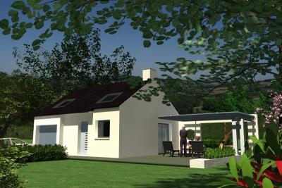 Maison Cléder 3 chambres - 156 049 €