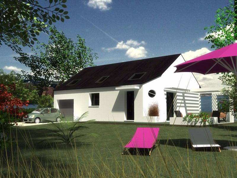 Maison Brasparts pour investissement - 165 153 €