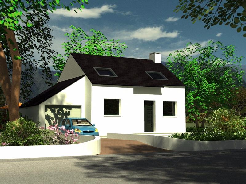 Maison Brasparts traditionnelle - 141 047 €