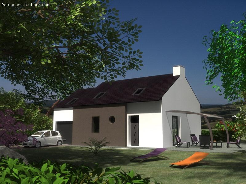 Maison Kersaint plabennec 5 chambres  208 545 €