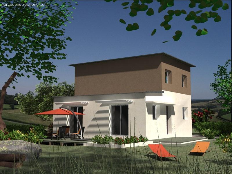 Maison Kersaint plabennec contemporaine 4 ch - 216 939 €