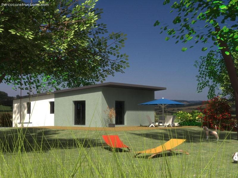 Maison Kersaint plabennec plain pied moderne - 197 416 €