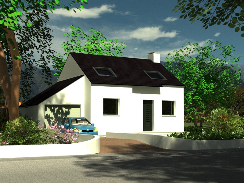 Maison Lampaul Guimiliau traditionnelle à 155 487 €