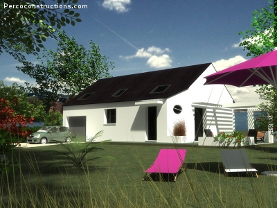 Maison PLOUGASTEL-DAOULAS - 5 Chambres - 208 295 €