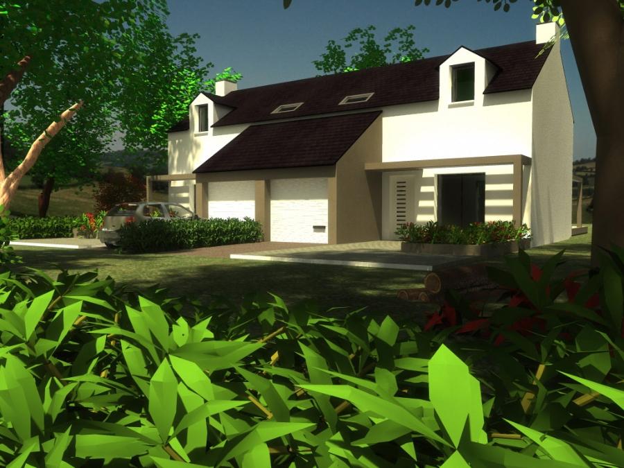 Maison Rosnoën double à 262 446 €