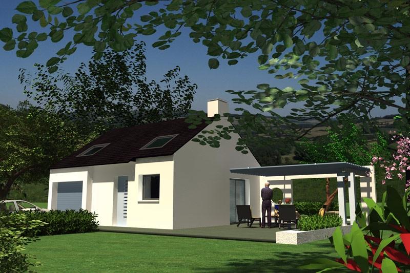 Maison Cléden-Poher 3 chambres - 139 475 €