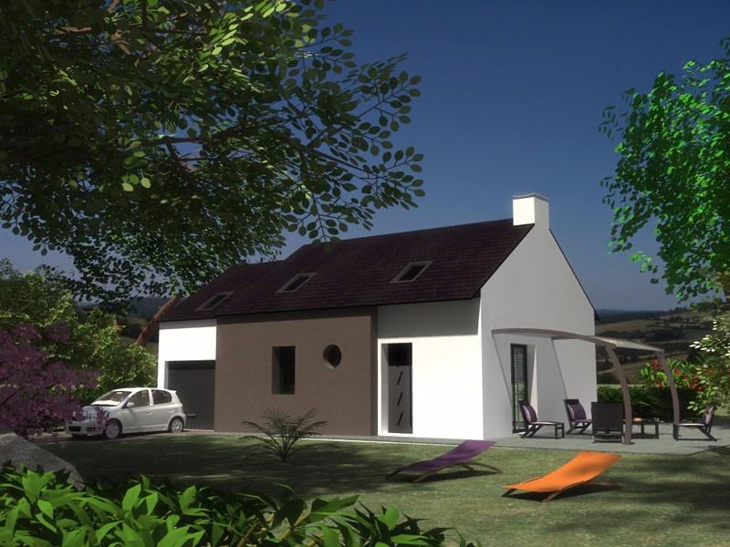 Maison Cléden-Poher 5 chambres - 156 063 €