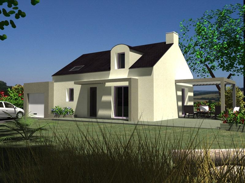 Maison L'Hopital Camfrout traditionnelle - 203134