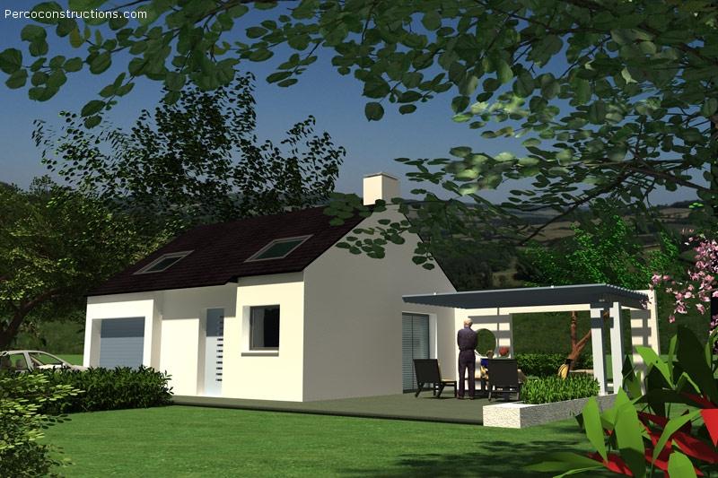 Maison PLOUGASTEL DAOULAS 3 chambres -206330 €