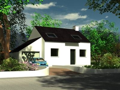 Maison PLOUGASTEL DAOULAS traditionnelle - 186 343
