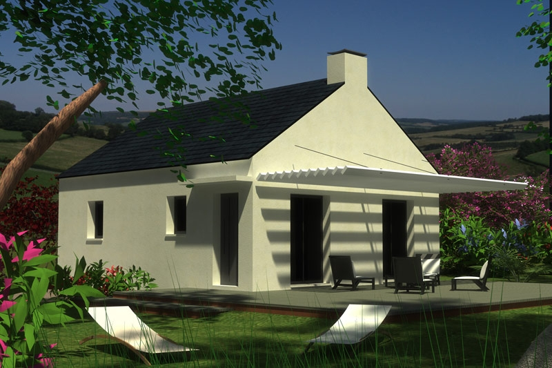 Maison Plourin idéal premier achat à 135 342 €