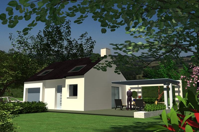 Maison St Ségal 3 chambres - 140 132 €