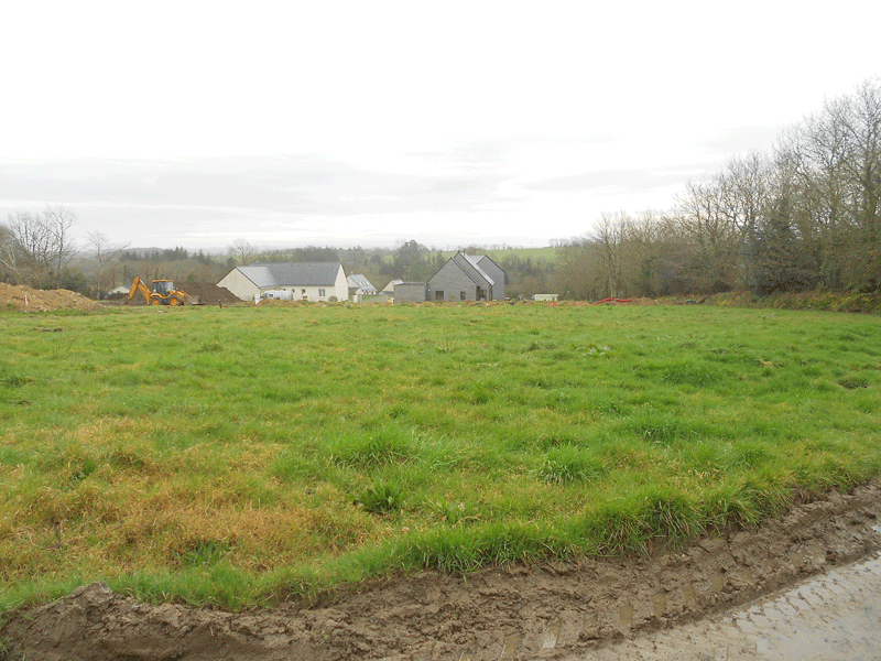 Terrain de 800 m² à Irvillac - 57 000  €