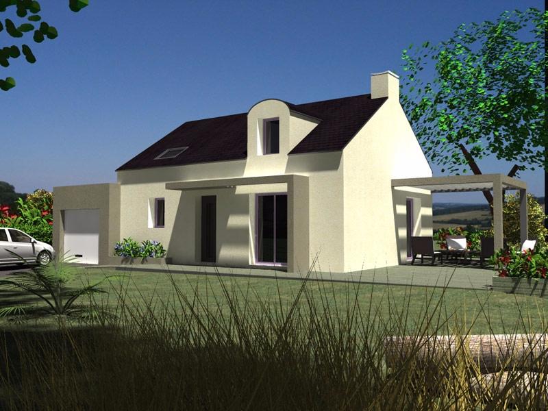 Maison Brasparts traditionnelle - 174 259 €