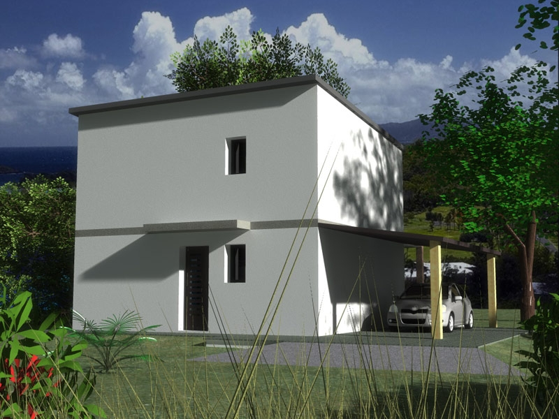 Maison contemporaine 3CH à L'Hopital Camfrout à 168 968 €