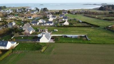 A Ploudalmézeau, terrain de 426 m² à 37 900 €
