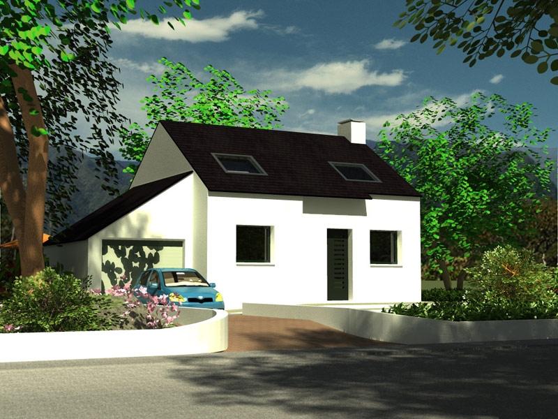 Maison à Briec traditionnelle à 182 154 €