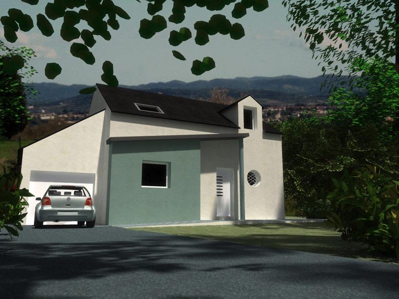 Maison idéale pour investissement à Ploudalmézeau à 221 028€