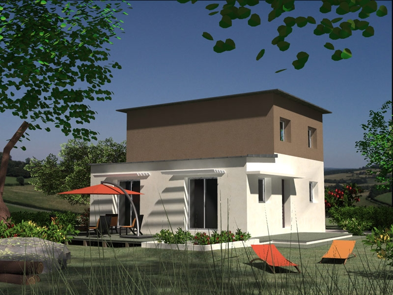 Maison Plourin contemporaine 4 chambres à 196 585 €